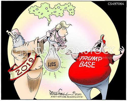 trump 20202 cartoon