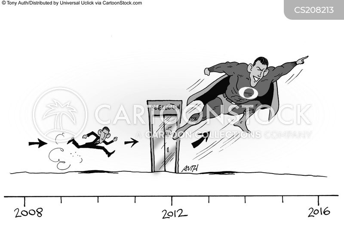 2nd term politics cartoon