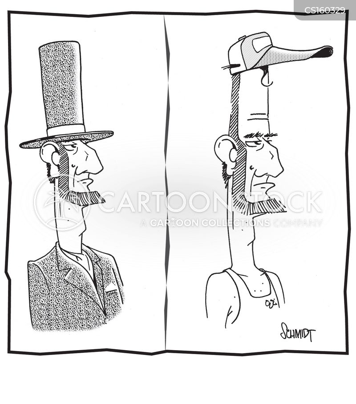 abraham cartoon