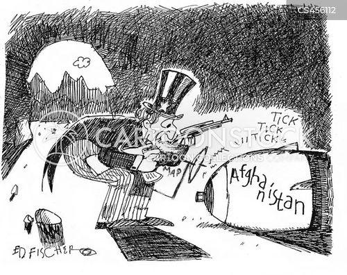 backfires cartoon