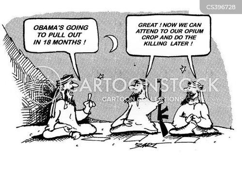opium cartoon