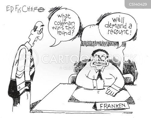 al franken cartoon