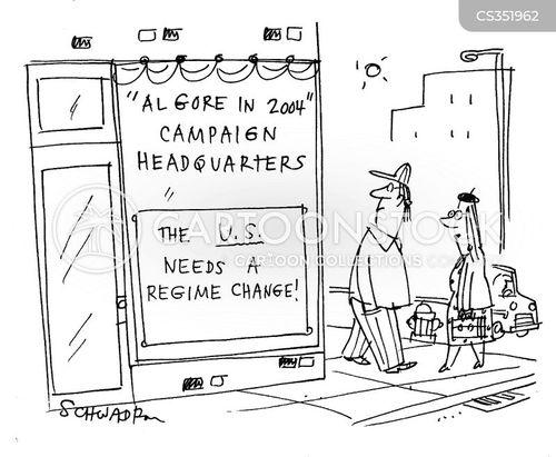 campaign headquarters cartoon
