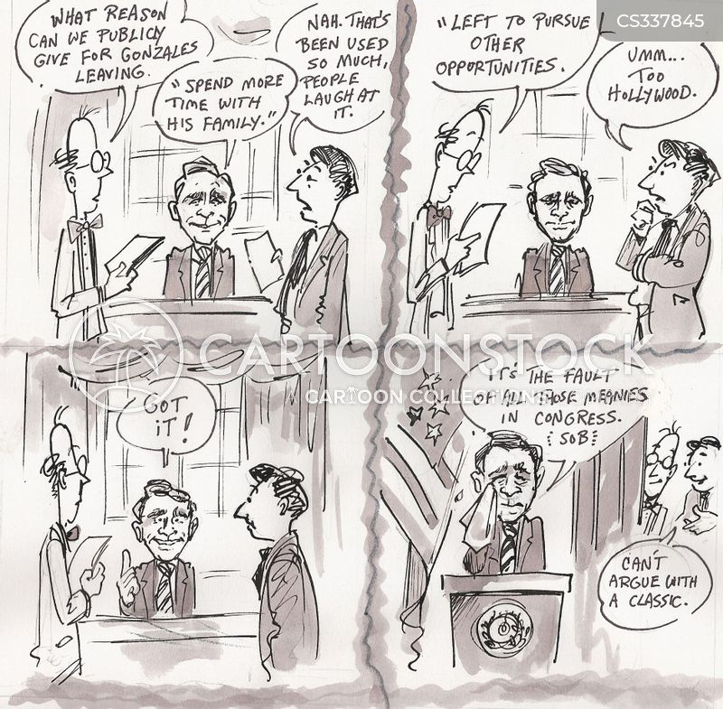 alberto gonzales cartoon