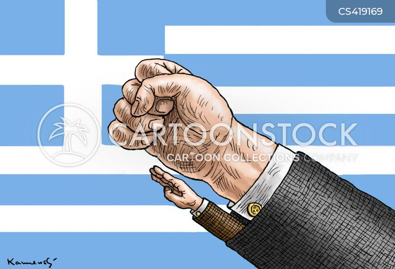 greek cabinet cartoon