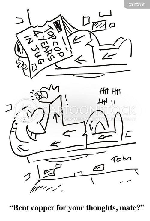 police service cartoon