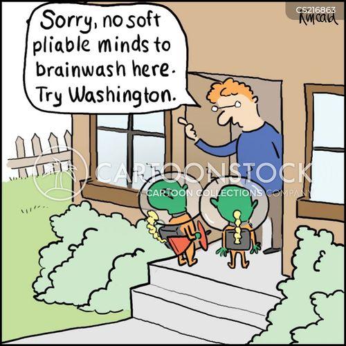 brain washed cartoon