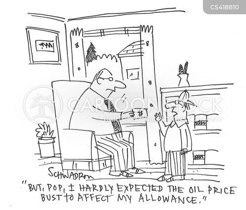 oil industry cartoon