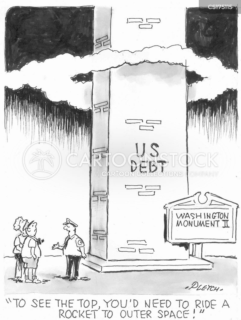 american debts cartoon