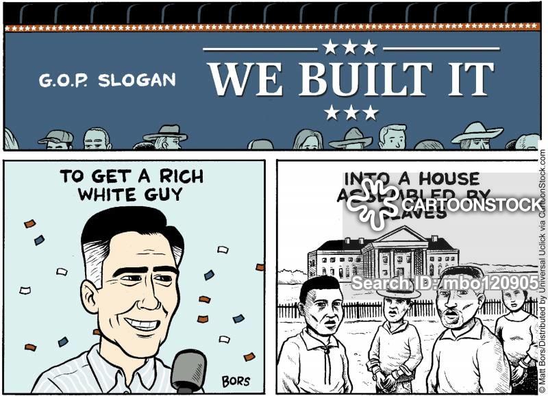 campaign slogan cartoon