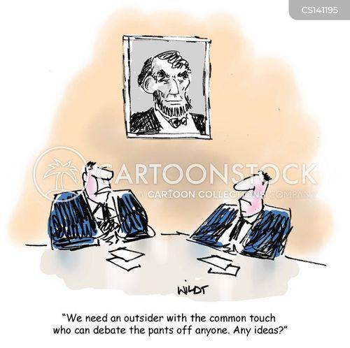 common man cartoon
