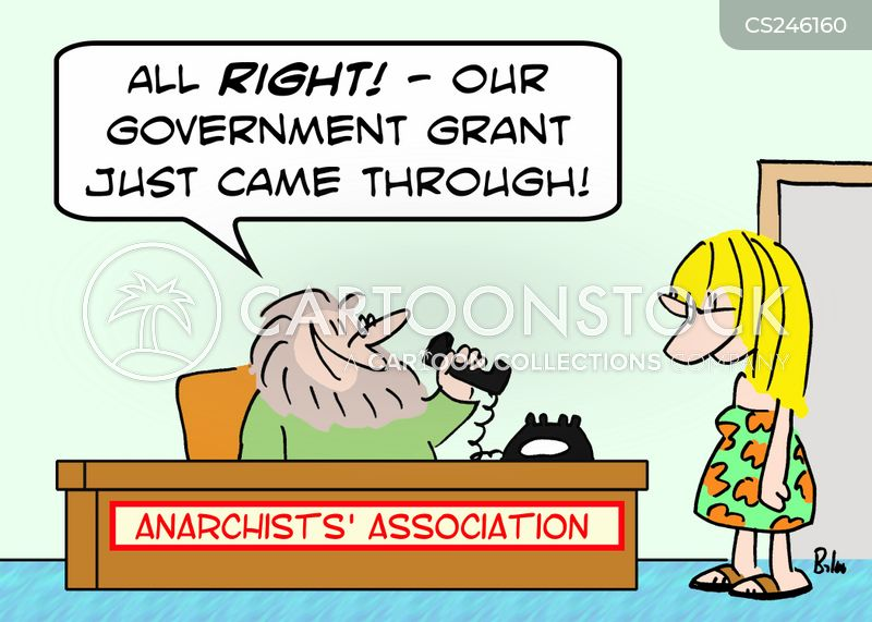 government grants cartoon