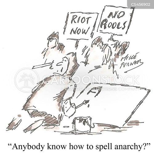 sign writer cartoon