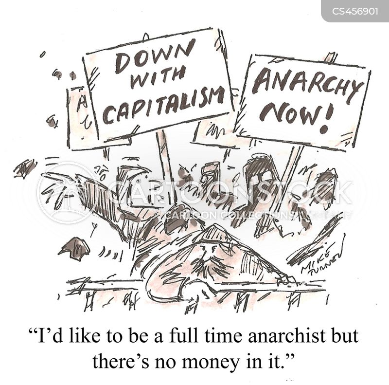 anti-capitalism cartoon