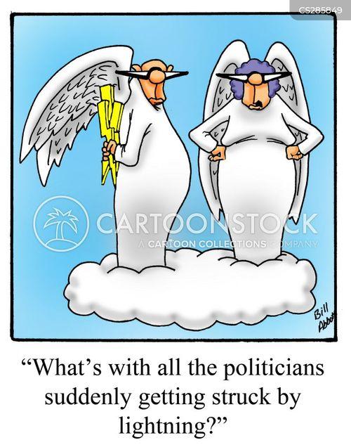 divine punishment cartoon