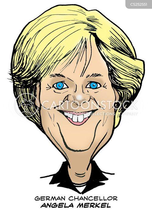 german leaders cartoon
