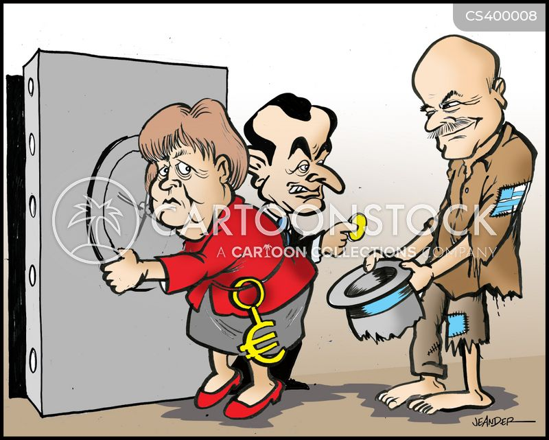 euro crises cartoon
