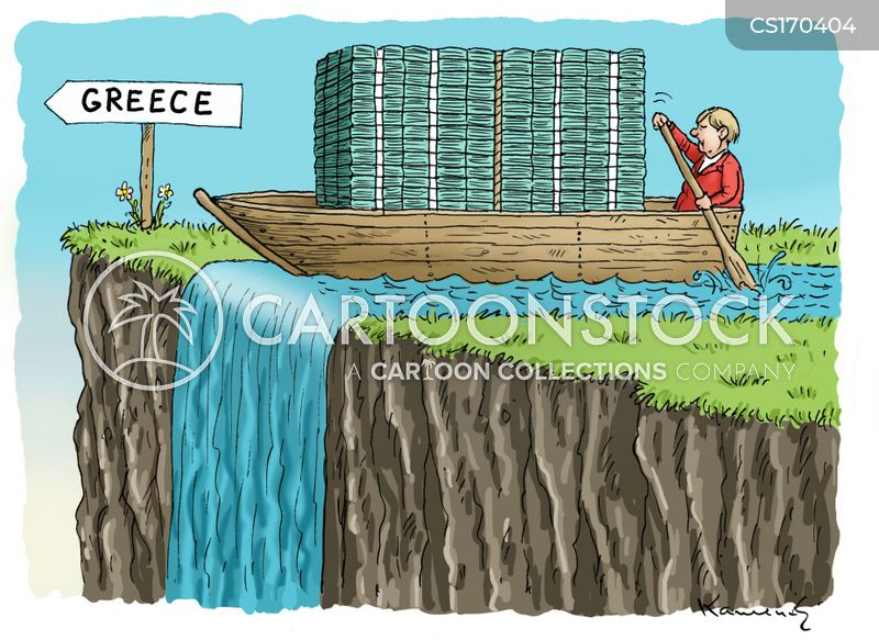 euro debt cartoon