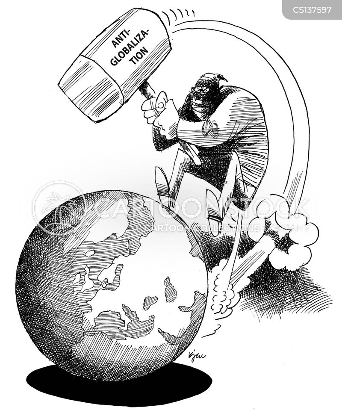 globalisation cartoon