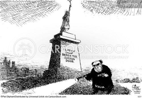 associate justice cartoon