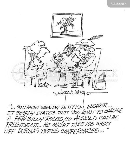 petitioners cartoon