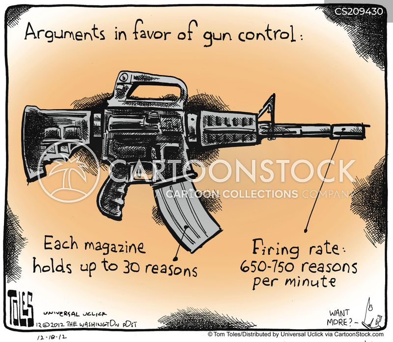 assault rifle cartoon