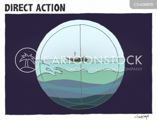 refugee boats cartoon