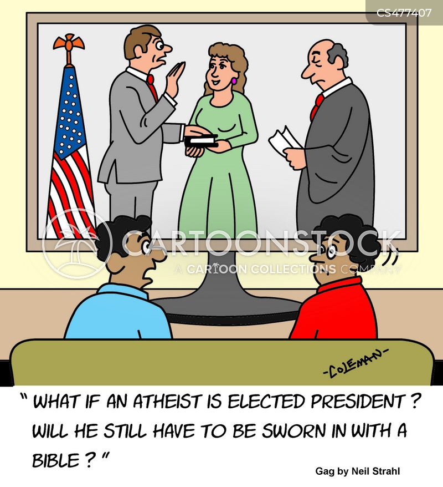 inaugurations cartoon