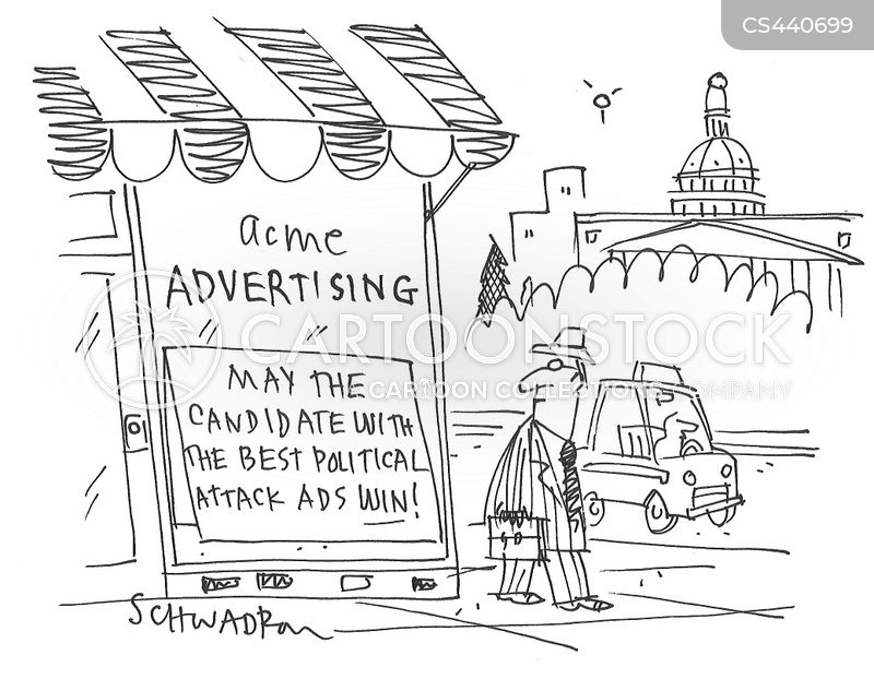attack ads cartoon