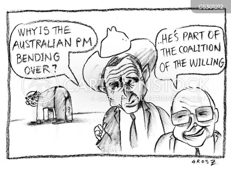 australian pm cartoon
