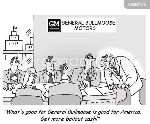 car industries cartoon
