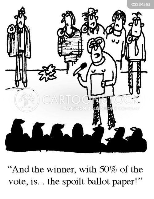 ballot paper cartoon