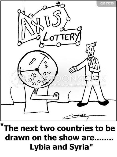 lybia cartoon