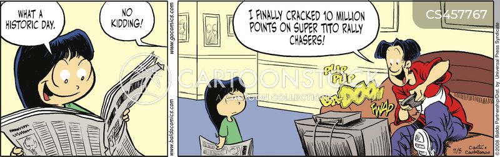election days cartoon
