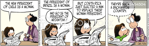 costa rica cartoon
