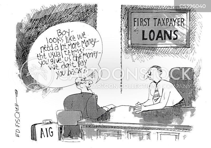 struggling banks cartoon