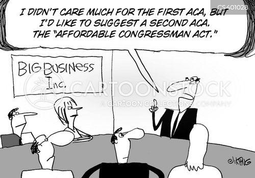 campaign finance reform cartoon