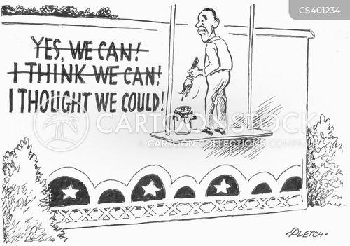 2008 election cartoon