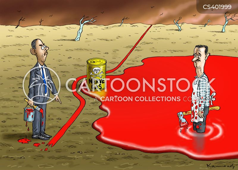 chemical weapons cartoon