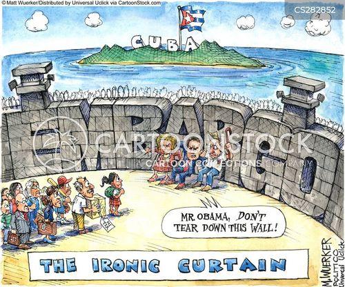 Iron Curtain Cartoon 2 Of 8