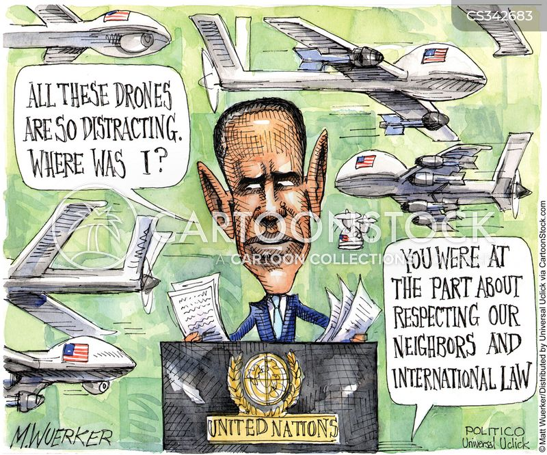 international politics cartoon