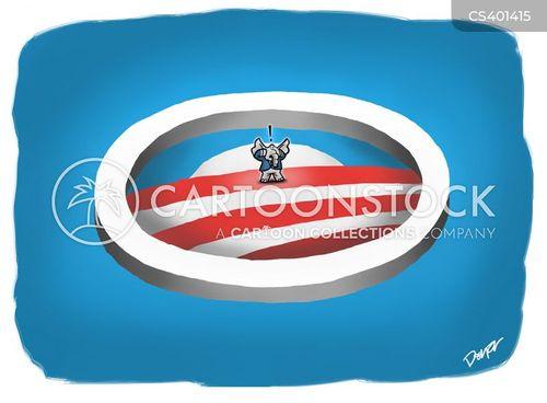 romney defeat cartoon