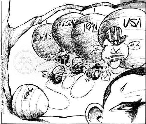 global problem cartoon