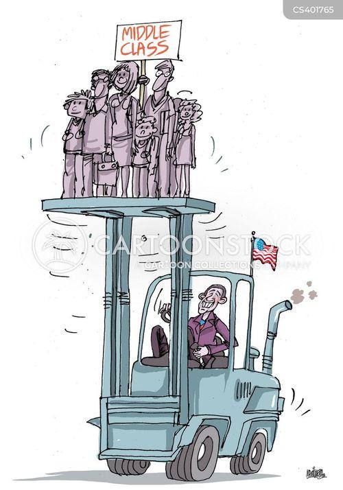 class war cartoon