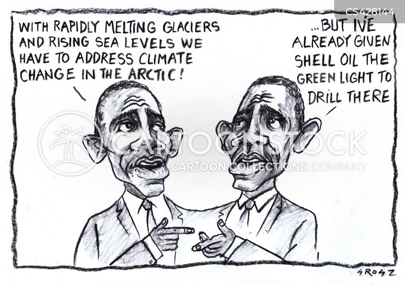 oil drilling cartoon