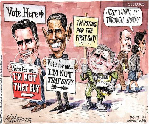 campaign platform cartoon