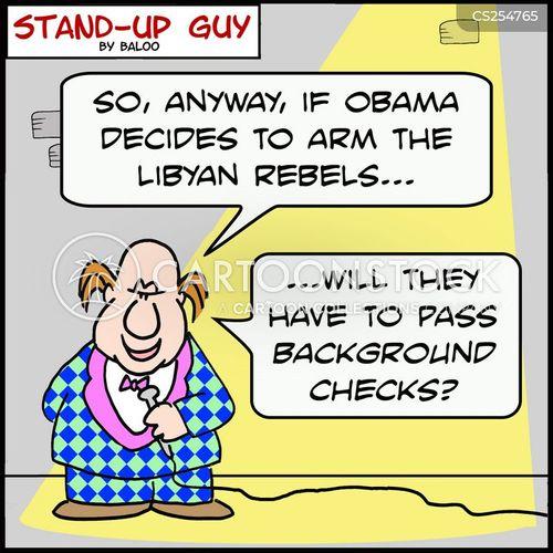 arming cartoon