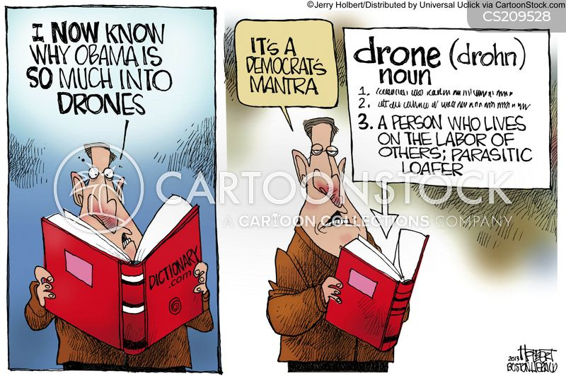 drone strike cartoon