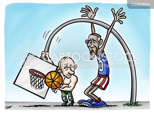 us-russian relations cartoon