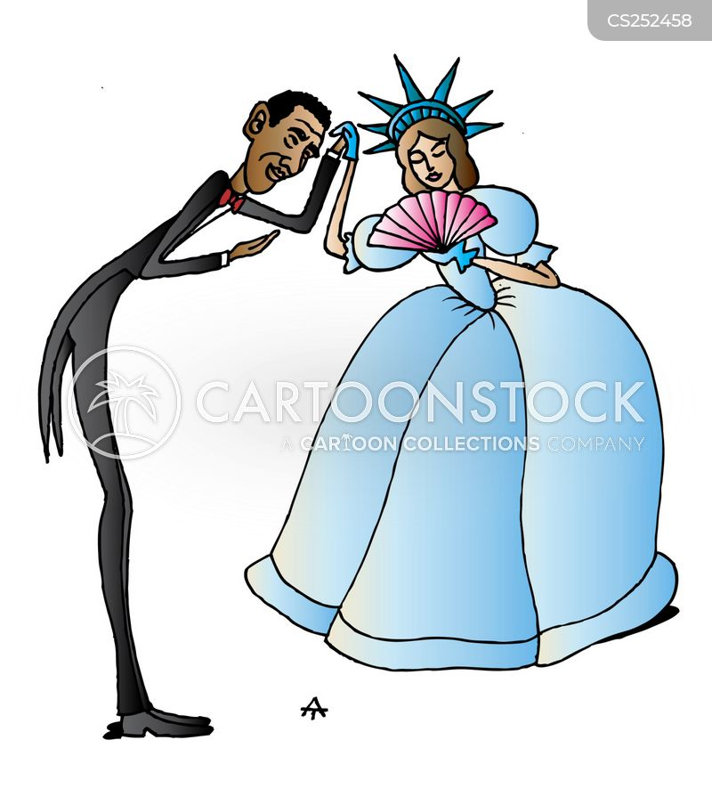 barak obama cartoon